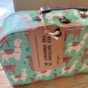 Anthropologie Other - Llama Decorative Suitcase set